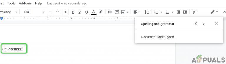 Fix: Google Docs-Rechtschreibprüfung funktioniert nicht