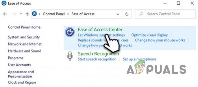 Wie stoppt man die automatische Mauszeigerauswahl, wenn man in Windows 10 über einen Hyperlink fährt?