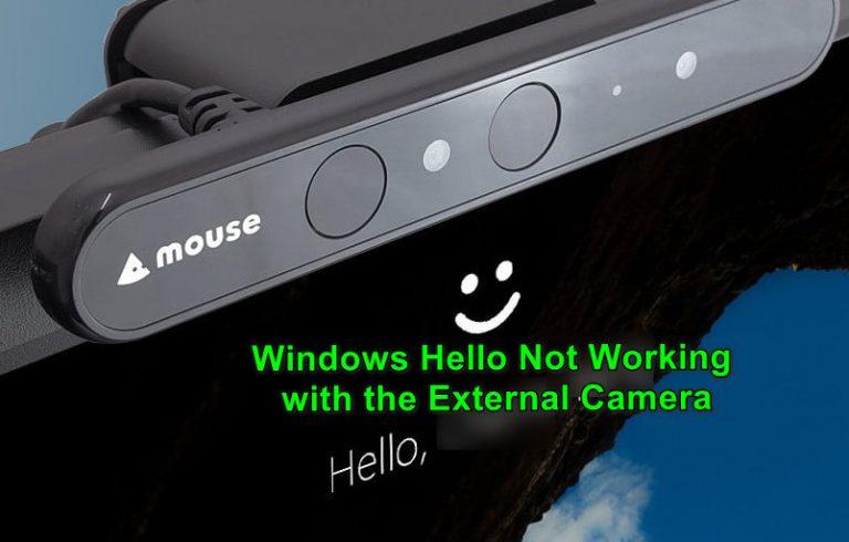 So verwenden Sie Windows Hello auf einer externen Kamera