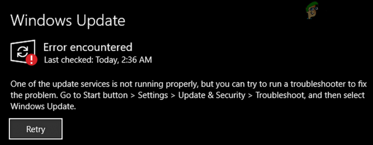 [SOLVED] Einer der Update-Dienste wird in Windows Update nicht ordnungsgemäß ausgeführt