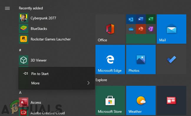 Wie kann man verhindern, dass Benutzer Anwendungen aus dem Startmenü in Windows 10 deinstallieren?