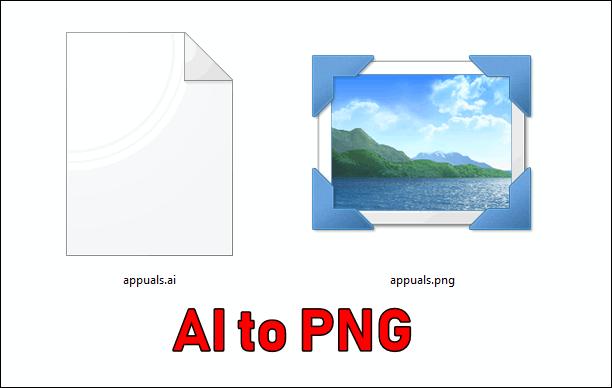 Wie konvertiert man AI in PNG?