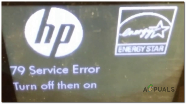 So beheben Sie den HP 'Service Error 79'