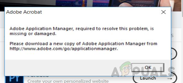 So beheben Sie fehlenden oder beschädigten Adobe Application Manager