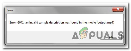 So beheben Sie 'Fehler 2041 – Code ungültige Beispielbeschreibung' in QuickTime