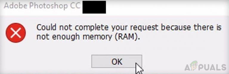 Wie behebt man Photoshop nicht genügend RAM-Fehler unter Windows 10?