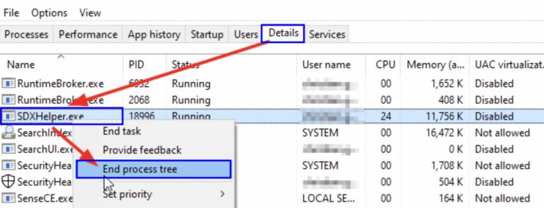 Fix: Microsoft Office SDX Helper – Hohe CPU im Hintergrund