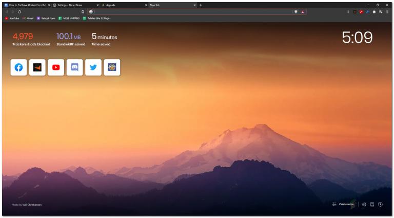 [FIX] Brave Browser startet nicht
