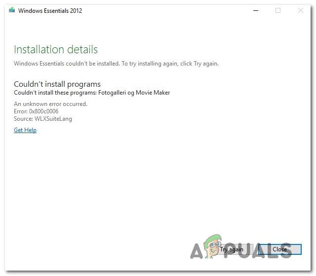 Wie behebt man den Fehler 0x800c0006 unter Windows 10?