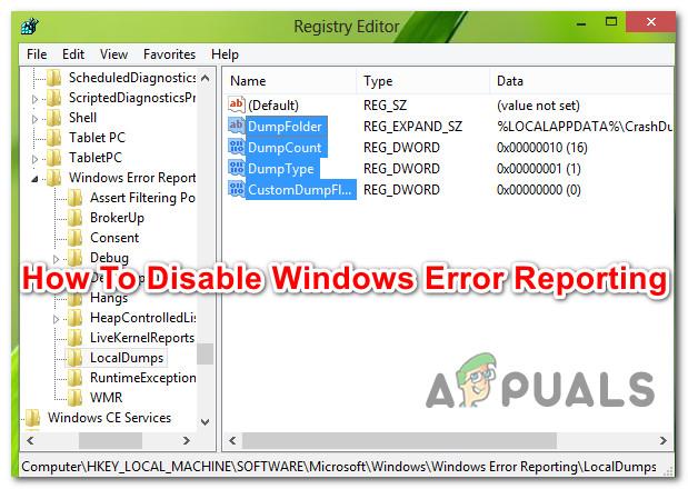 So deaktivieren Sie die Fehlerberichterstattung in Windows 10