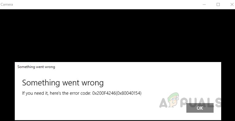 Wie behebt man den Kamerafehlercode: 0x200F4246 (0x80040154) unter Windows 10?