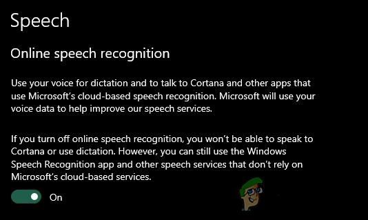 So aktivieren / deaktivieren Sie die Online-Spracherkennung in Windows 10?