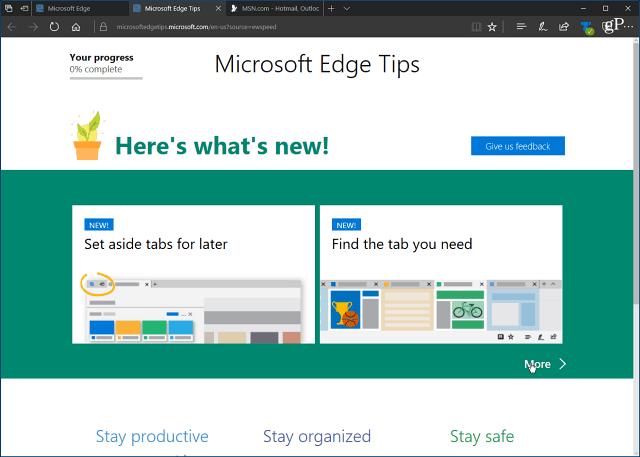 So deaktivieren Sie die Erstausführung in Microsoft Edge Chromium