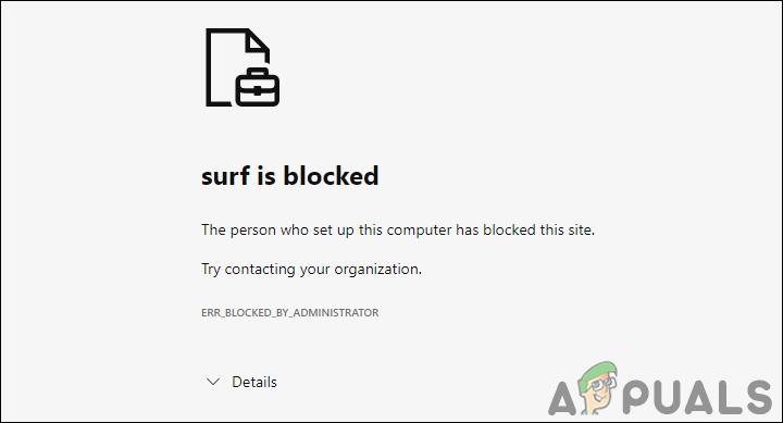 So deaktivieren Sie das Surfspiel in Microsoft Edge?