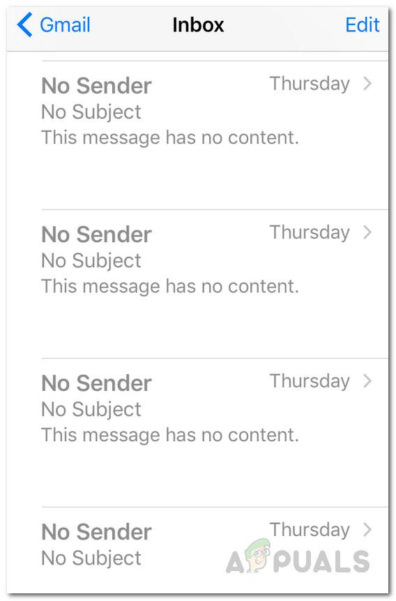 So beheben Sie das Problem mit iOS Mail ohne Absender und Betreff