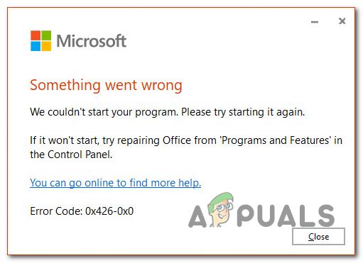 So beheben Sie den Microsoft-Fehlercode 0x426-0x0