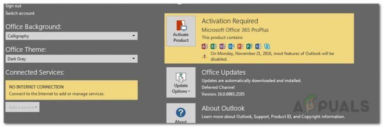 Fix: Office 365 kein Internetverbindungsfehler