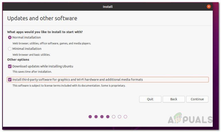 So beheben Sie das Ubuntu 20.04-Installationsprogramm, das bei Updates feststeckt
