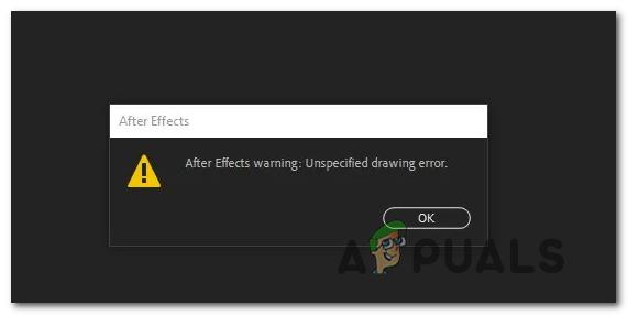 [FIX] After Effects 'Unbekannter Zeichnungsfehler'