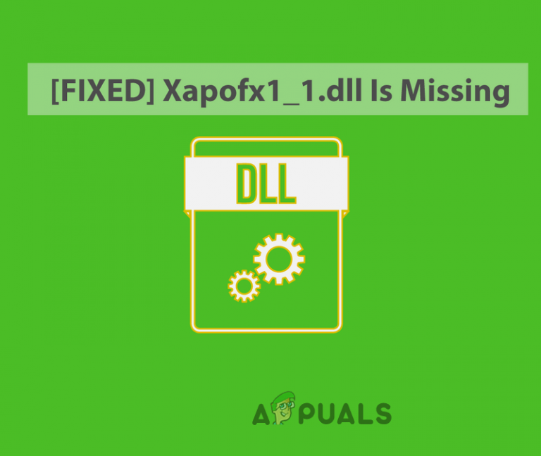 So beheben Sie, dass Xapofx1_1.DLL fehltLL