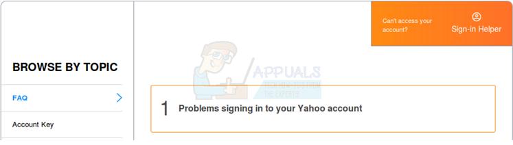 Wie greife ich auf mein Yahoo-Konto zu, wenn ich meine Telefonnummer und mein Passwort vergessen habe?