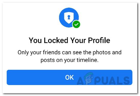 So sperren Sie Ihr Facebook-Profil